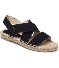 espadrilles sandaletter expadrilles låga svart ilse jacobsen
