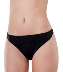 elita essentials cotton stretch high waist thong
