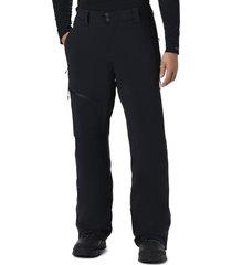 pantalón snow rival ii pant nylon negro columbia