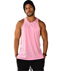 regata longline basics brohood rosa - rosa - masculino - dafiti