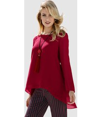 blouse amy vermont bordeaux