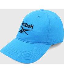 gorra azul-negro reebok active foundation badge