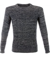 crombie navy wool jumper 60097knnm