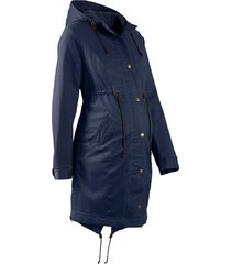 parka prémaman con fodera in pile (blu) - bpc bonprix collection
