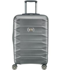 "delsey meteor 24"" hardside expandable spinner suitcase, created for macy's"