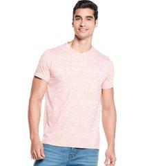 camiseta slim maxi print palo de rosa