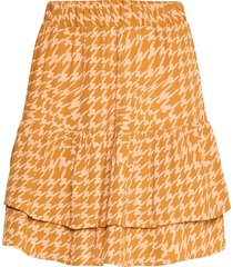 nuballou skirt kort kjol orange nümph