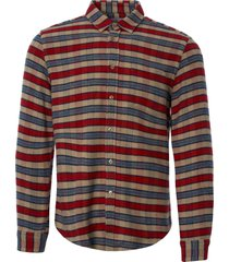 portuguese flannel jersey flannel shirt - red aw18023