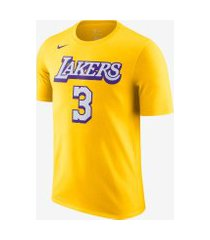 camiseta nike anthony davis (nba) lakers city edition masculina