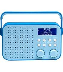 dab+ & fm-radio blå
