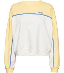celeste sweatshirt celeste swe sweat-shirt tröja creme levi´s women