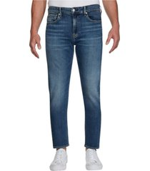 jeans slim taper azul oscuro calvin klein