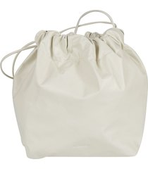 jil sander classic plain bucket bag
