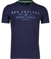 new zealand t-shirt leeston navy