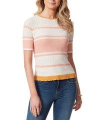 jessica simpson bexley striped sweater