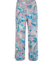 pantaloni culotte con cinta comoda (rosa) - bpc bonprix collection