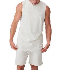 men's longline scoop muscle tank