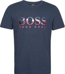 tee 3 t-shirts short-sleeved blå boss