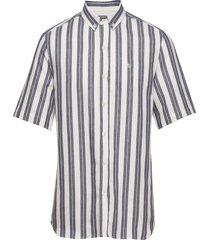 elm shirt overhemd met korte mouwen wit forét