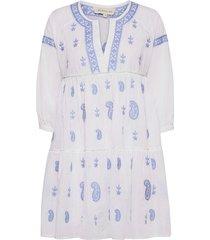 mimi dress dresses everyday dresses blå by malina