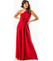 gina- suknia na jedno ramię