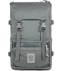 men's topo designs tech rover backpack - grey
