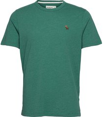 anf mens knits t-shirts short-sleeved grön abercrombie & fitch