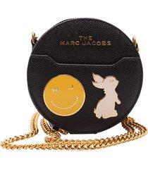 marc jacobs charm leather shoulder bag