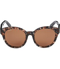 53mm squared cat eye sunglasses