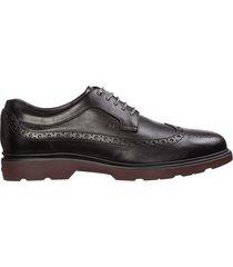 scarpe stringate classiche uomo in pelle route derby