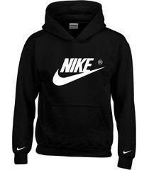 buzo estampado nike con capota saco  hoodies