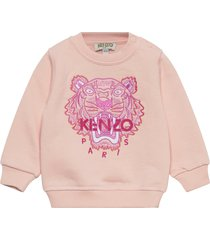 tiger jg b2b bb sweat-shirt trui roze kenzo