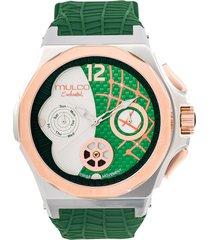 reloj mulco para mujer - enchanted shell  mw-5-3813-473