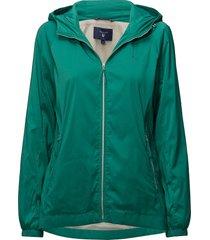 o1. windbreaker zomerjas dunne jas groen gant