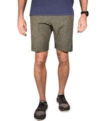 men's tropical camo flat front gurkha shorts