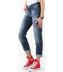 skinny jeans wrangler boyfriend vintage blue w27m9185r