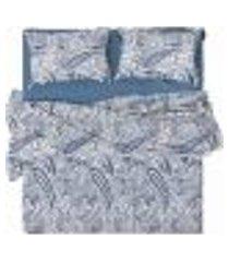 jogo de cama solteiro 150 fios cotton kashe