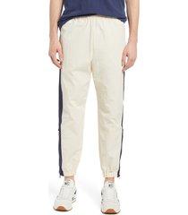 men's kenzo sport nylon track pants, size x-large - white