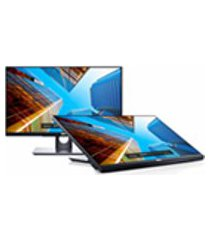 monitor touchscreen full hd led ips 23,8 widescreen dell p2418ht preto
