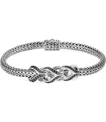'asli classic chain' sapphire spinel silver extra small bracelet