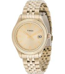 timex waterbury traditional 34mm watch - gold