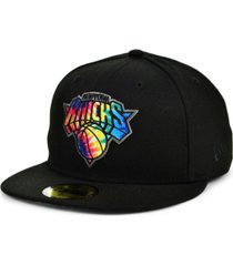 new era new york knicks tie dye thread cap