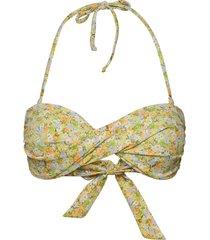 ensalmon swim bra aop 5782 bikinitop grön envii