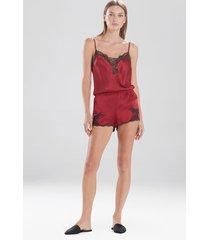 natori lolita tap shorts sleep pajamas & loungewear, women's, 100% silk, size xs natori