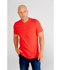 camiseta pompilio slim cremallera con cuello