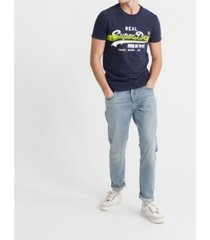 superdry men's cross hatch t-shirt