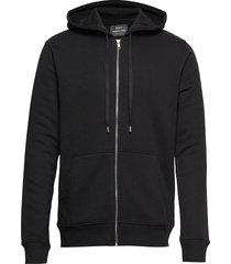 new standard sall print hoodie trui zwart mads nørgaard