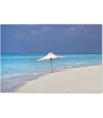 """christopher knight collection - cool beach canvas art, 27"""" x 36"""""""