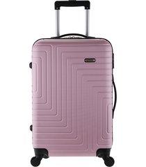 mala de bordo linha sevilha rosa - rosa - dafiti