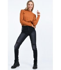 jean gris her jeans
